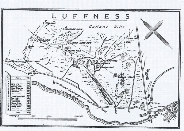1872 old luffness - luffness new and gullane 2